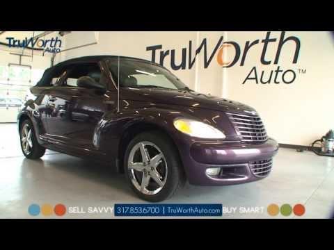 2005 PT Cruiser - Clean CARFAX - Heated Leather Seats - TruWorth Auto