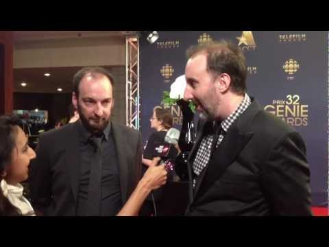 Starbuck Writer & Director Interview - FWC at the Genie Awards