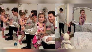 Kevin Jonas, Danielle, Alena & Valentina live stream via instagram (5.15.19) Video