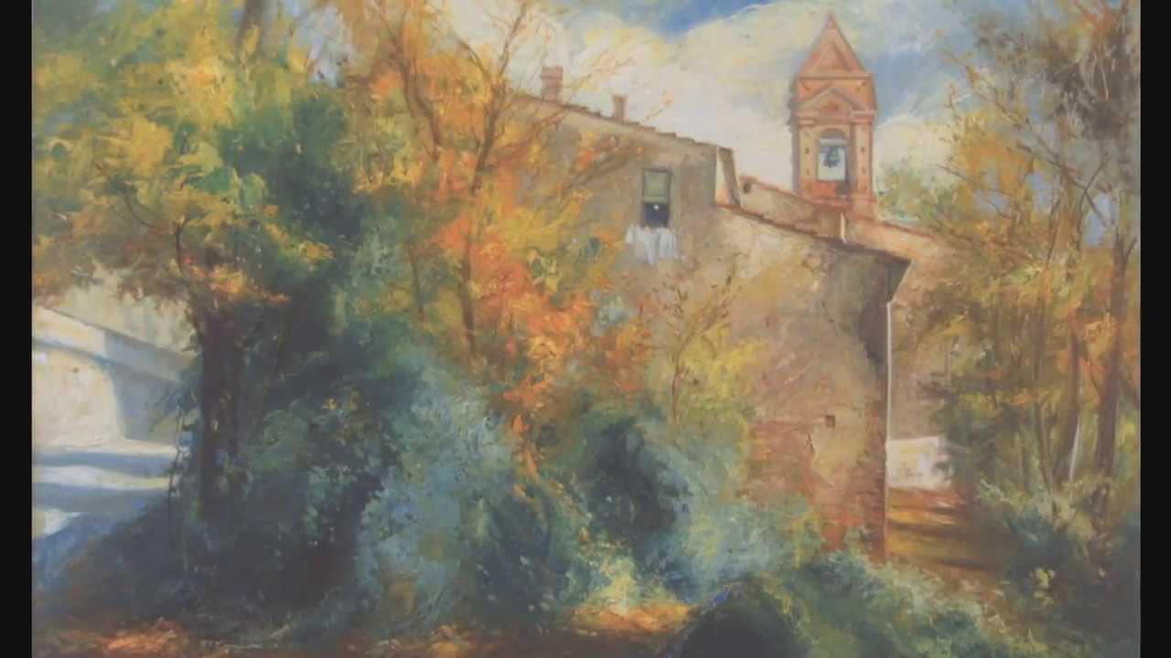 Enrico Fornaini  dipinti di PAESAGGI VARIwmv  YouTube