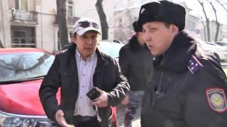 В Алматы полиция сорвала пикет в защиту Жанболата Мамая