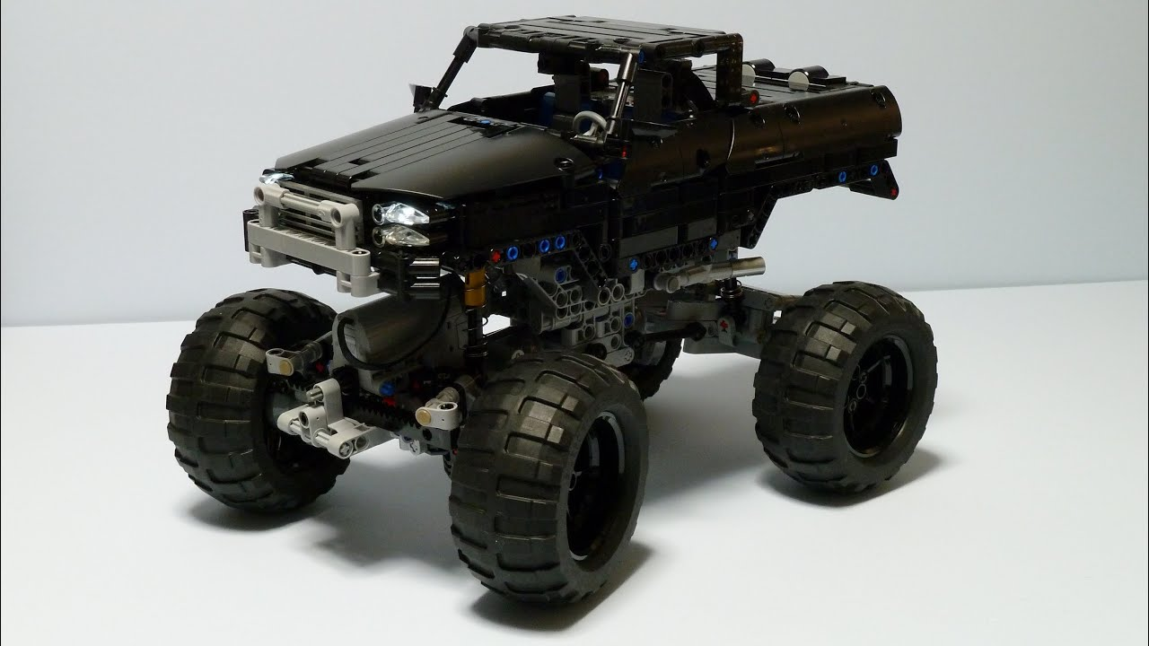 Lego Technic Trial Truck 4x4 Youtube
