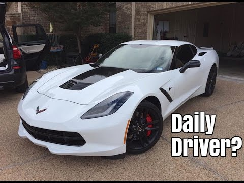 Can You Daily Drive A Corvette C7 Stingray?