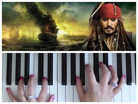 He's A Pirate from Pirates of the Caribbean | EASY Piano Tutorial