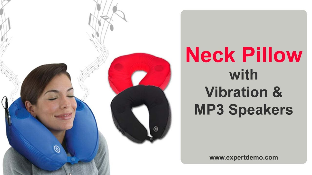 best neck pillow with vibration massager and speakers