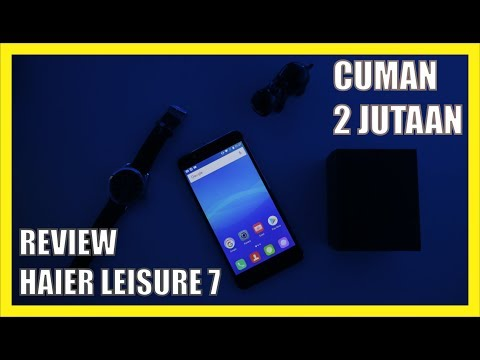 Review Smartphone Fastest Charging ? - Haier Leisure 7