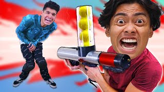 DON'T SHOOT THE PERSON HIDE BEHIND THE WALL! - Challenge (ft. @Wassabi)