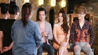 Hồ Quỳnh Hương mặc gợi cảm, quyến rũ khi hướng dẫn các thí sinh X-Factor - [Tin Tức 24h]
