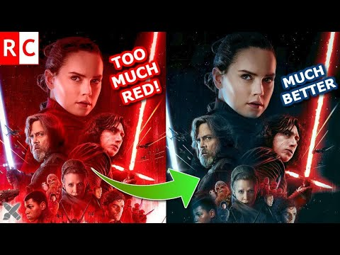 Too much RED in THE LAST JEDI Posters!?!