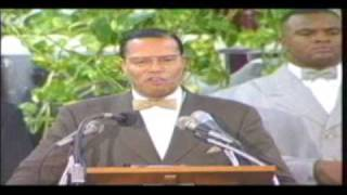 Beating Prophecy pt 2 Honorable Minister Louis Farrakhan 1/10