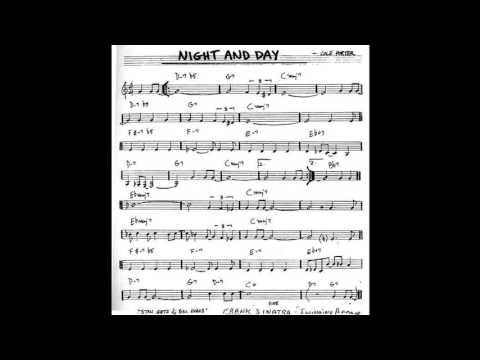 Night And Day Play Along - Backing Track (C Key Score Violin/guitar/piano)