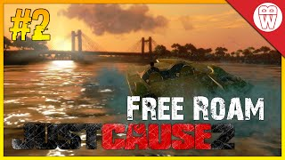 Just Cause 2 Free Roam Gameplay #2 - I Can