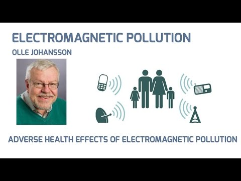 ADVERSE HEALTH EFFECTS OF ELECTROMAGNETIC POLLUTION - Lecture by Prof. Olle Johansson
