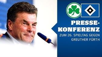 RELIVE: Die Pressekonferenz vor dem Auswärtsspiel bei der SpVgg Greuther Fürth