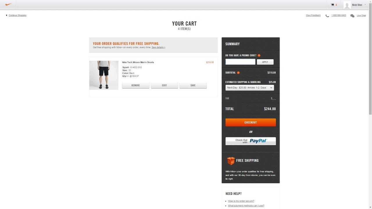 free next day shipping nike code coupon