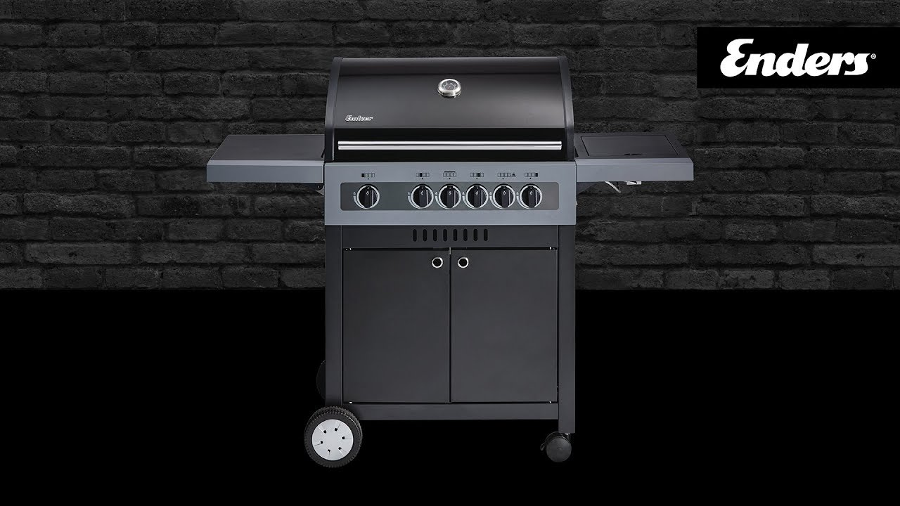 Gasgrill Aldi Nord Enders Boston Black 4ik