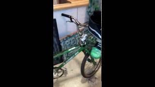 80's Spyder mx pro version bmx freestyle bike