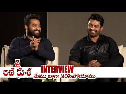 Jr NTR and Kalyan Ram Special Interview About Jai Lava Kusa | TFPC