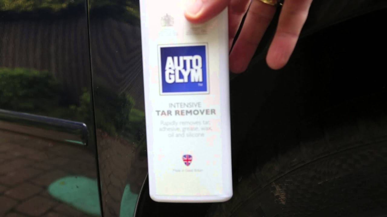 How To Remove Spots Of Tar From Car Paintwork