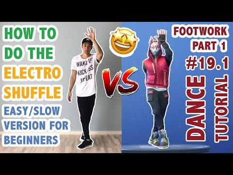 How To Do The Electro Shuffle In Real Life (Easy/Slow Version For Beginners) | Part 1: Footwork