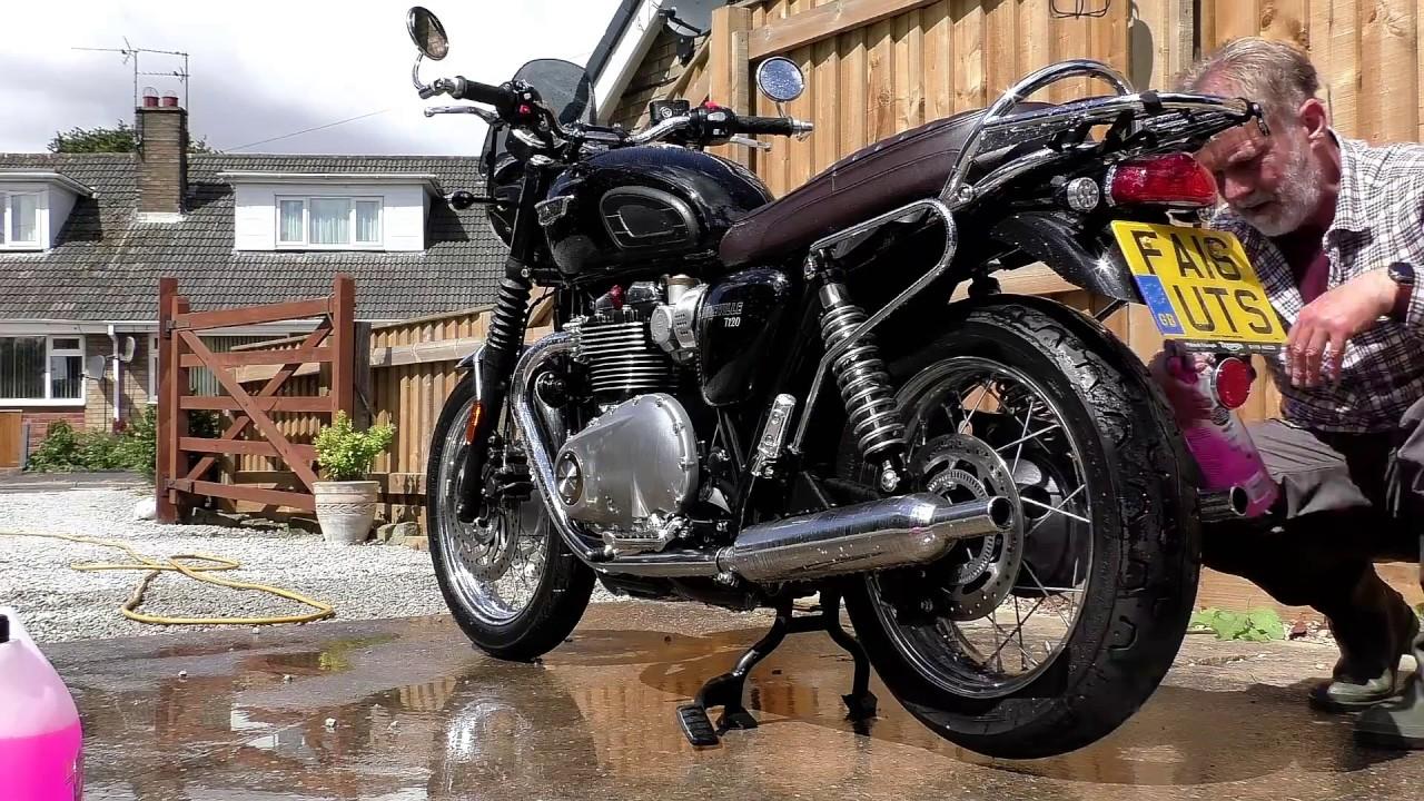 Triumph T120 Preparing Your Motorcycle For Winterwinterizingrust