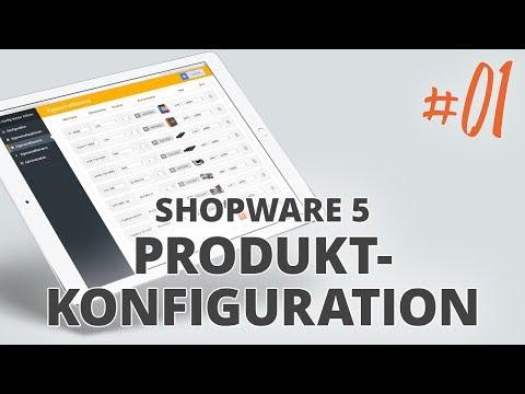 X-CONFIG Starter Edition - Produktkonfiguration mit Shopware 5