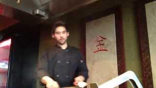 Troy Wixom - teppanyaki chef at Ponzu in Burlington Iowa IA #1