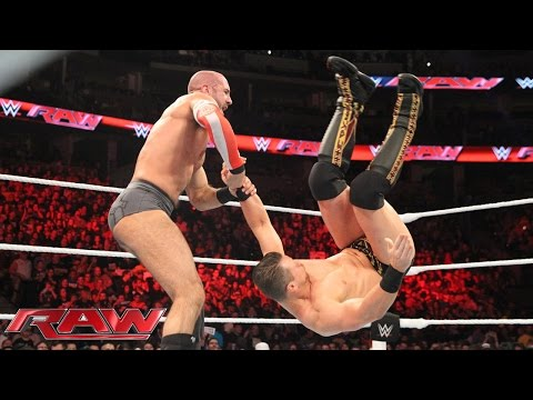 Cesaro Vs. The Miz: Raw – 2. November 2015