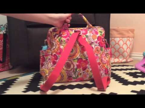 Vera Bradley Convertible Baby Bag Review