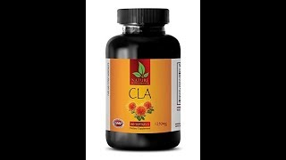 Metabolism booster pills - CLA - CONJUGATED LINOLEIC ACID (SAFFLOWER OIL) - Cla weight loss for men