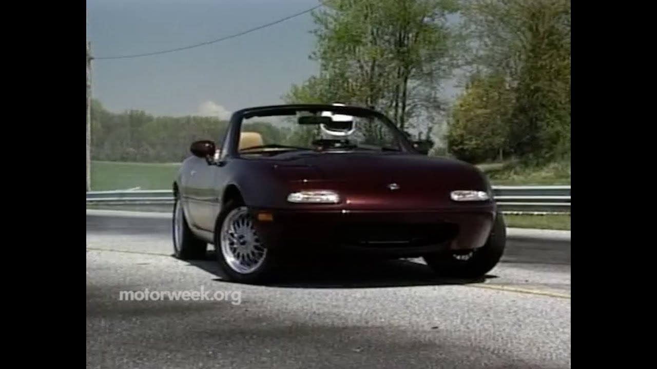 Motorweek Retro Review 95 Miata M Edition