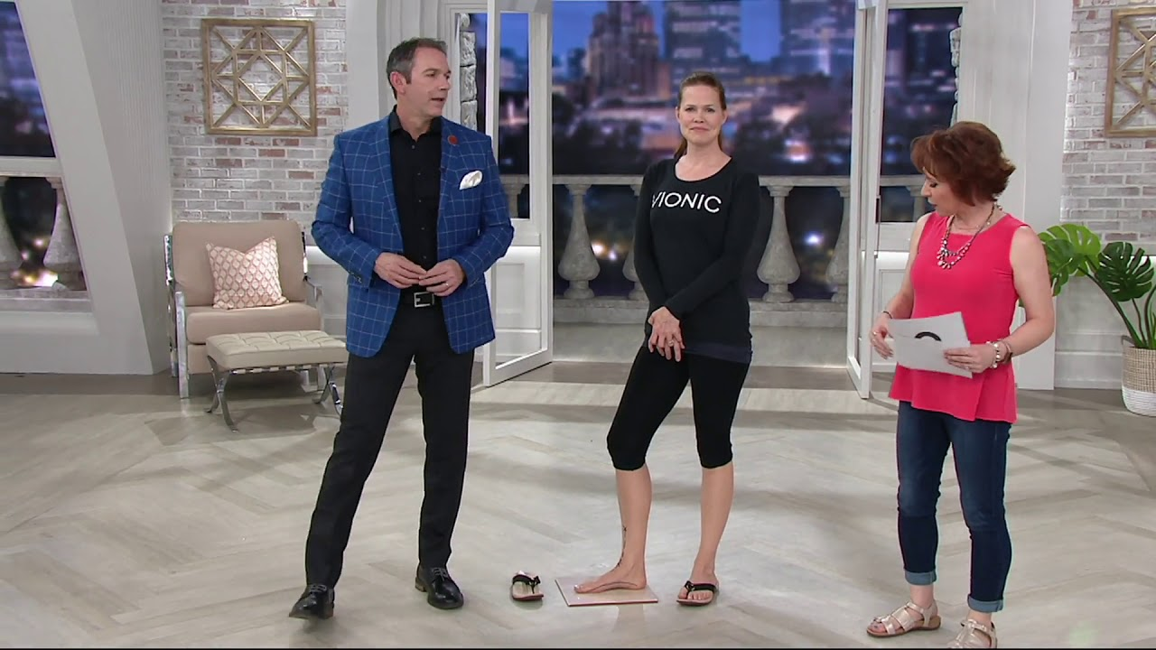 9a2fd76e5e17 Vionic Thong Sandals with Ring Detail - Elena on QVC - YouTube