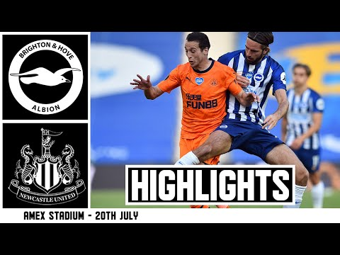 Brighton and Hove Albion 0 Newcastle United 0 | Premier League Highlights
