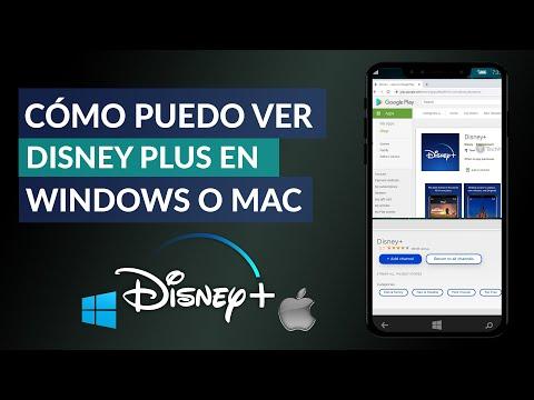 Cómo Puedo ver Disney Plus en mi PC Windows o Mac