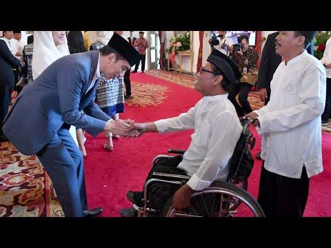 Presiden Jokowi Open House di Istana, 5 Juni 2019