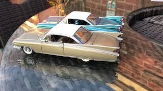 1:24 Danbury Mint 1959 & 1960 Cadillac