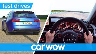 Audi RS 6 Avant POV review | Test Drives