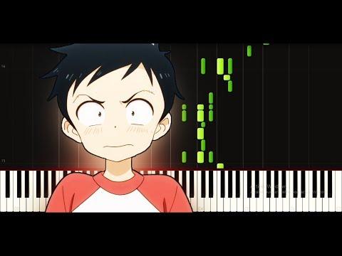 Karakai jouzu no takagi-san OP (FULL) - Iwanai kedo ne. [Piano tutorial + SHEETS] // Synthesia