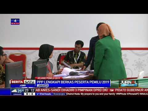 PPP Datangi KPU Lengkapi Berkas Pendaftaran Peserta Pemilu 2019
