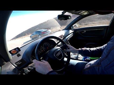 "Audi S4 (4.2)   vs   Infiniti G37s  ...  Батл  "" атмо - моторов "" ..."