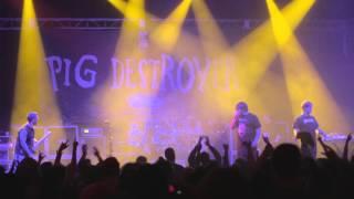 PIG DESTROYER Hyperviolet/Piss Angel/Jennifer/Cheerleader Corpses LIVE [HD]