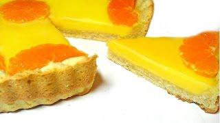 Мандариновый пирог (рецепт тарта)