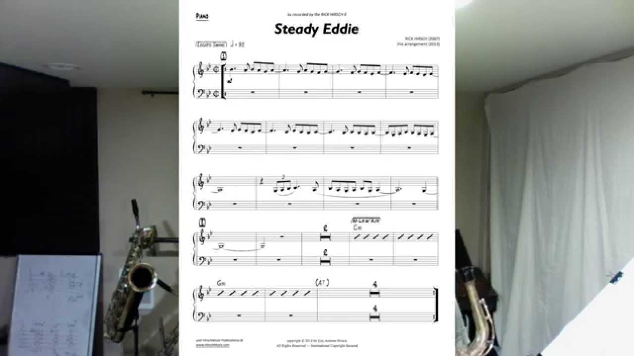 Free Sheet Music - Jazz Blues in G Minor