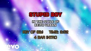 Keith Urban - Stupid Boy (Karaoke)