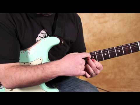 Stevie Ray Vaughan - Love Struck Baby - Blues Guitar Intros - SRV - Blues Guitar Lessons
