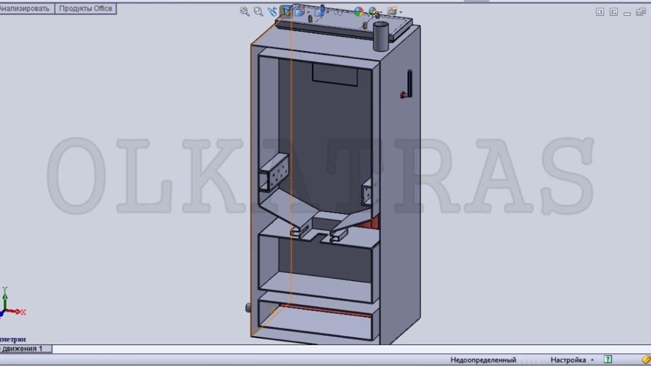 Самодельный пиролизный котел теплогенератор - YouTube