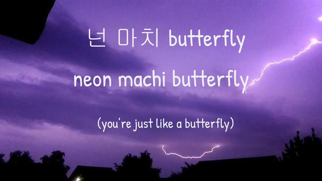 Bts Butterfly Korean English Lyrics Youtube