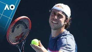 Duckworth v Lorenzi match highlights (1R)   Australian Open 2017