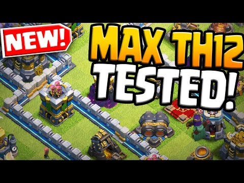 NEW MAX Town Hall 12 TESTED! Clash Of Clans UPDATE 2019