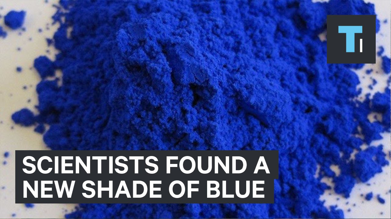 Scientists found a new shade of blue
